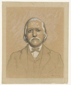 Portret van professor H.P.G. Quack