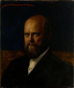 Prof. E. R. Neovius Portrait