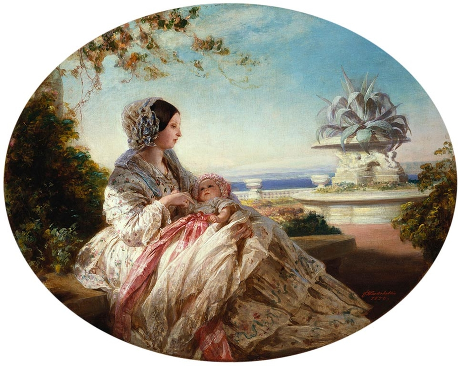 Queen Victoria with Prince Arthur