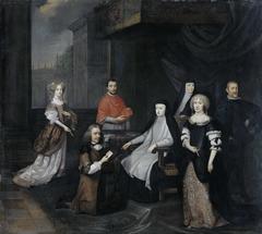 Reception of the Dutch ambassador Hieronymus van Beverningk by the Spanish queen-regent Maria-Anna of Austria, 2 March 1671