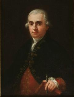 Retrato de Juan Agustín Ceán Bermúdez