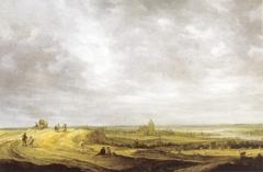 River landscape with a view of Arnhem