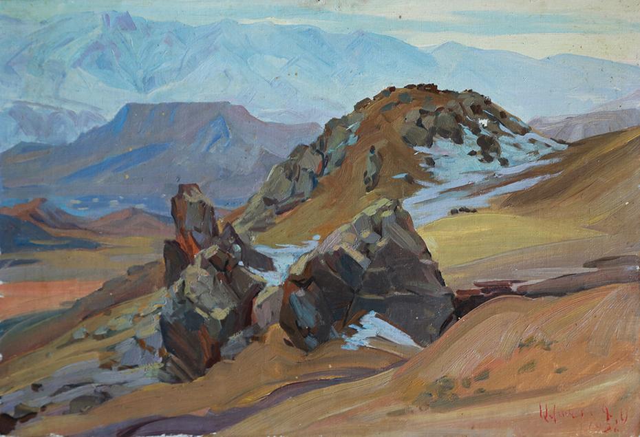 Rocks in Eghegnadzor
