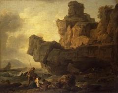 Rocks on a Seashore