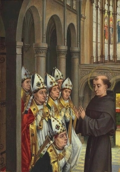 Saint Anthony and Six Bishops