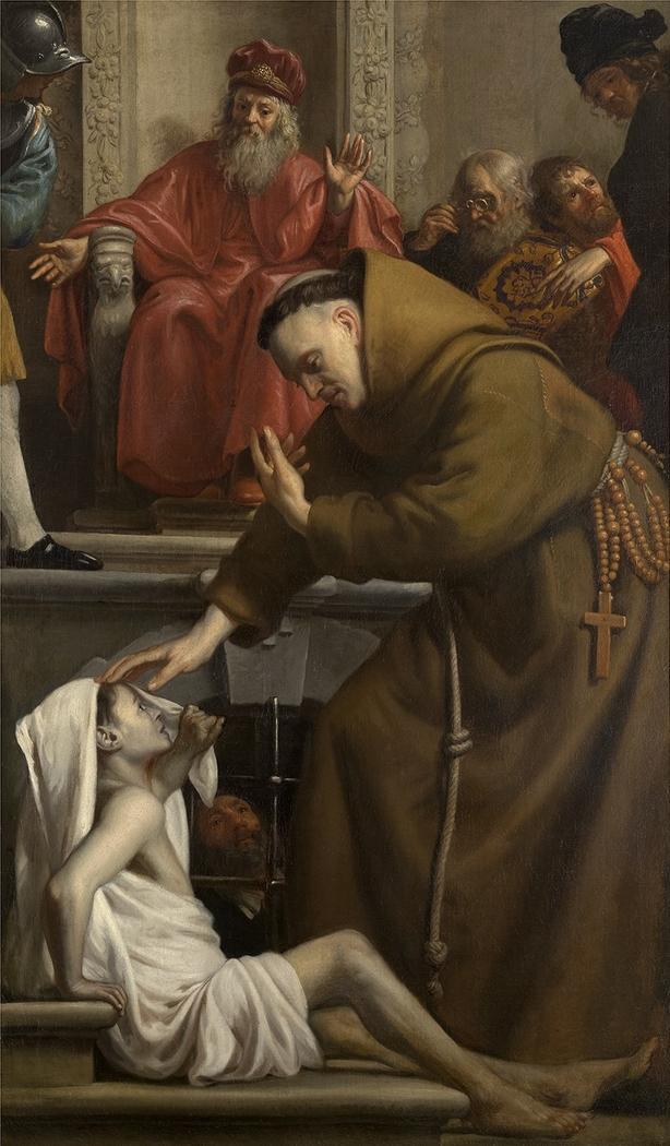 Saint Antony raising a Man from the Dead