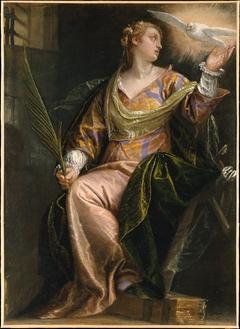 Saint Catherine of Alexandria in Prison