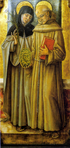 Saints Bernardino and Clare