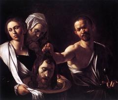 Salome with the Head of John the Baptist (Caravaggio), London