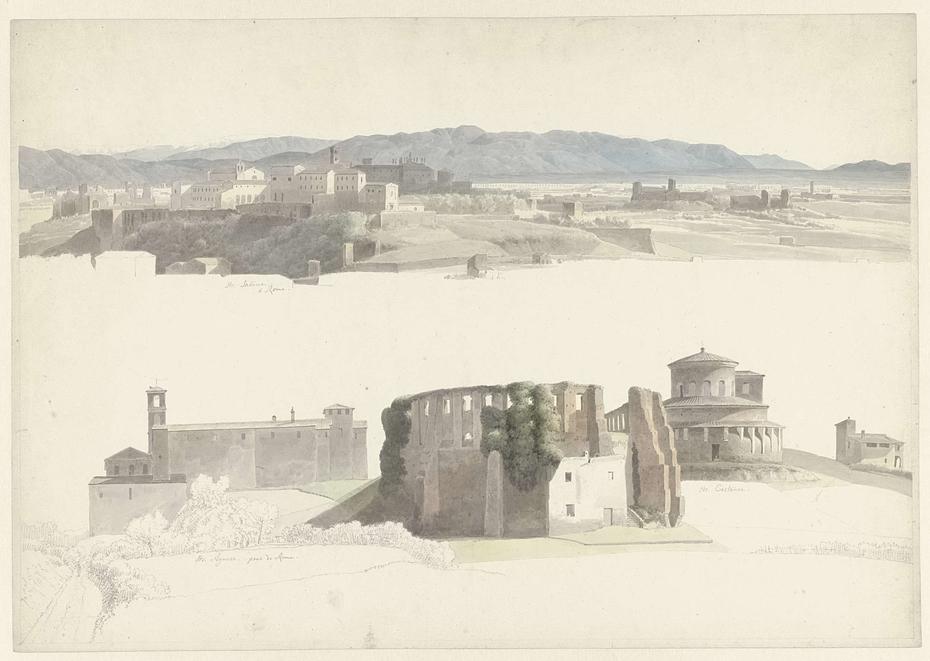 Santa Sabina on the Aventine Hill and Sant'Agnese fuori le Mura and Santa Costanza in Rome