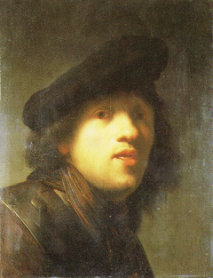 Self-portrait with a Gorget and Beret (MOA)