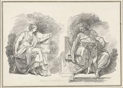 Sibylle Erythrea en de profeet Daniël