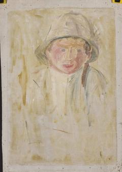 Sketch of a boy's figure VIII