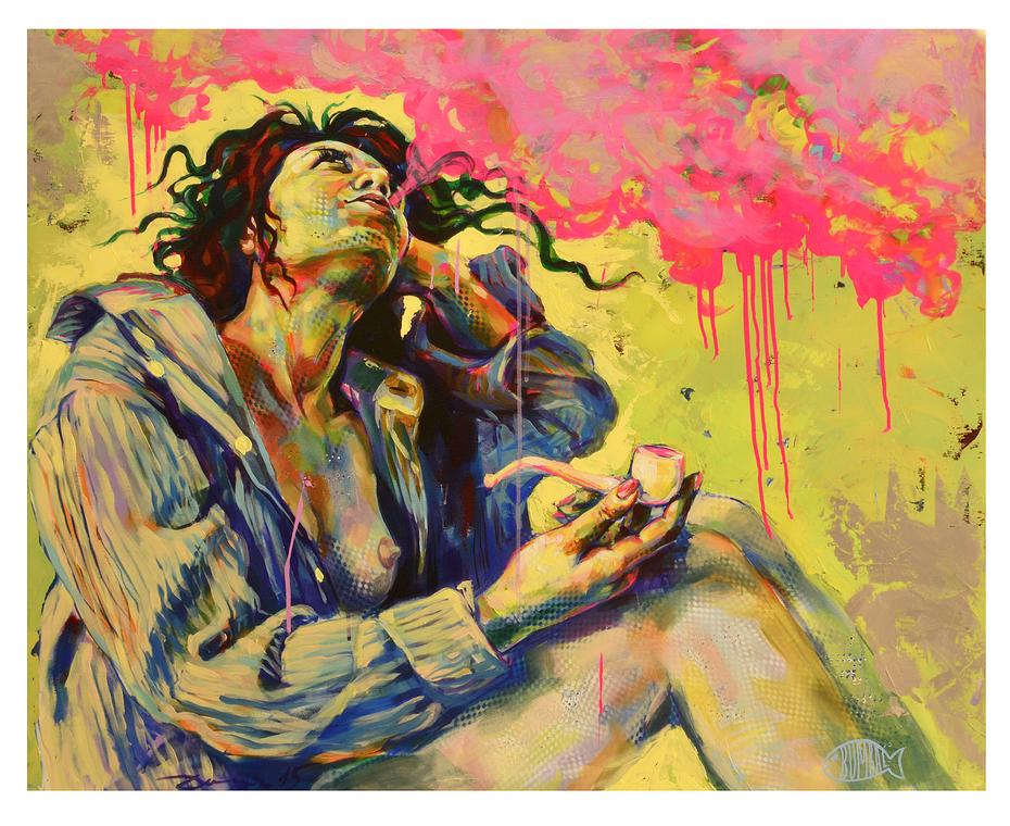 Smoker of hashish 1