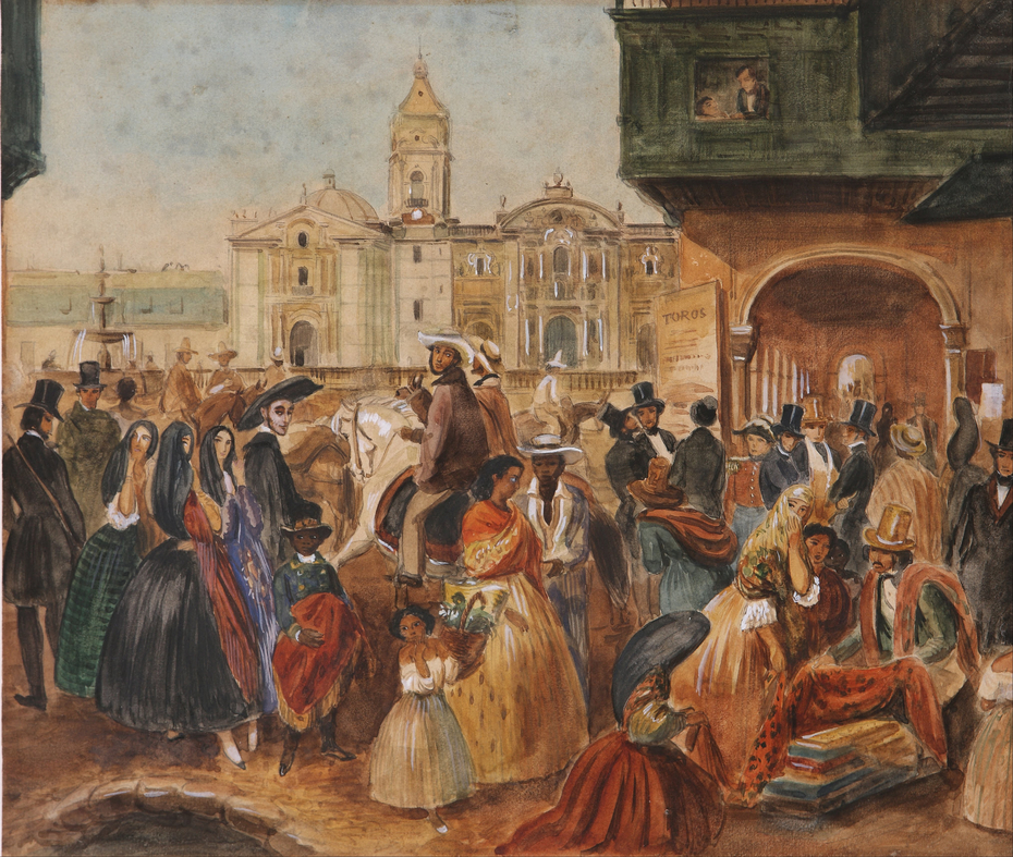 Study for Lima's Main Square