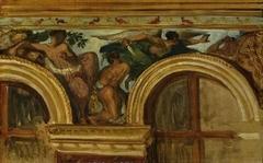 Study for part of the 'Justice' frieze, Palais Bourbon, Paris
