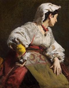 Study of an Italian woman