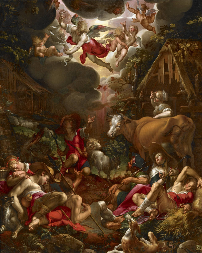The Annunciation to the Shepherds