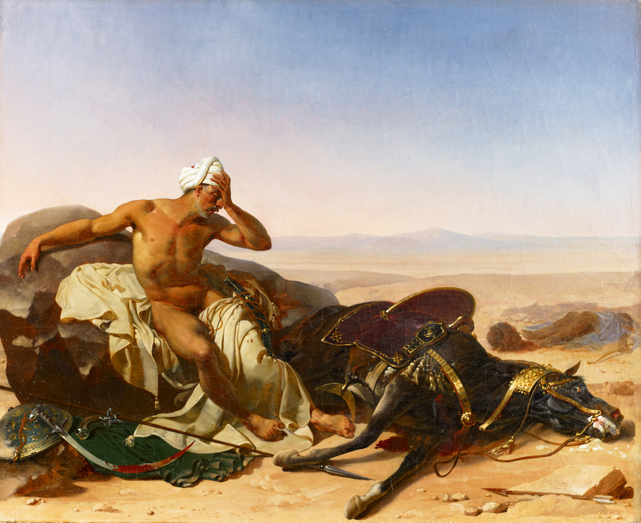 The Arab Lamenting the Death of his Steed