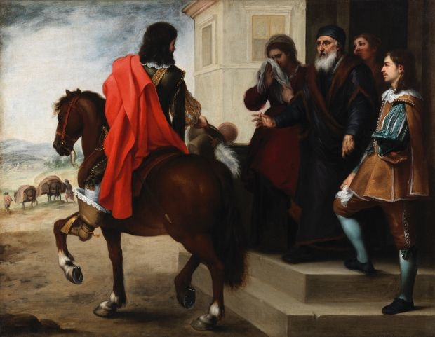 The Departure of the Prodigal Son