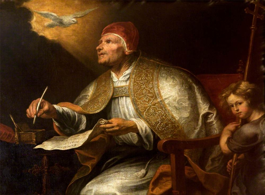 The Four Doctors of the Western Church: Saint Gregory the Great