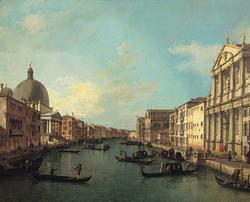 The Grand Canal from Santa Maria di Nazareth toward Santa Croce