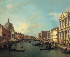 The Grand Canal from Santa Maria di Nazareth toward Santa Croce