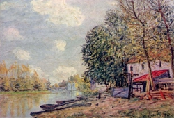 The Loing in Moret
