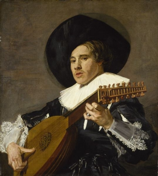 The Lute Player (facing left)