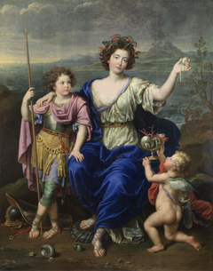 The Marquise de Seignelay and Two of her Sons