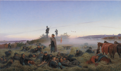 The Morning After the Battle of Isted 25 July 1850