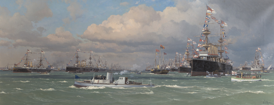 The Naval Review at Spithead, 26 June 1897