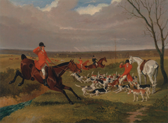 The Suffolk Hunt : The Death