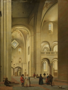 The Transept of the Mariakerk in Utrecht, seen from the Northeast