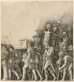 The Triumph of Caesar: Soldiers Carrying Trophies