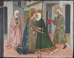 The Visitation Panel from Saint John Retable