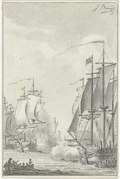 Treffen tussen Fielding en Van Bylandt, 1779
