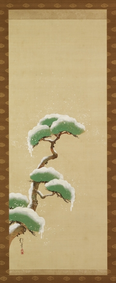 Triptych of the Seasons: Snow Clad Pine