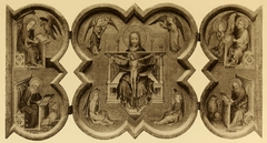 Triptych with the Holy Trinity and Four Evangelists