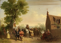 Triumph of Stoffel Brinkerhoff, on His Return from His Conquests in the East