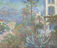 Les villas à Bordighera