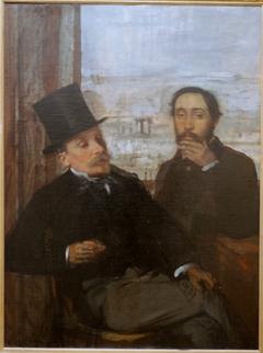 Degas et Evariste de Valernes