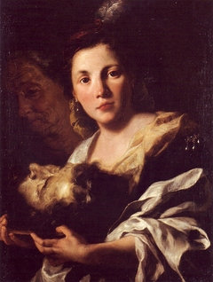 Salome and the head of S. John the Baptist