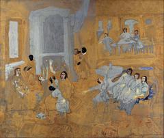 Untitled (Oriental interior)