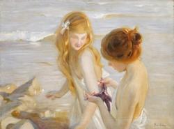 Deux jeunes Filles à l'Étoile de Mer
