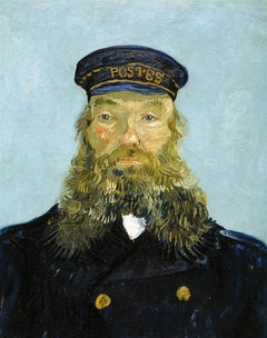 Portrait of Postmann Roulin / Portrait of the Postman Joseph Roulin