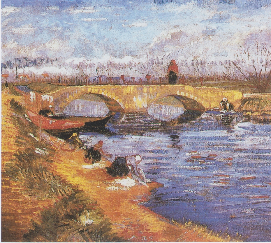 Pont de Gleize at Arles (The Gleize Bridge over the Vigueirat Canal)