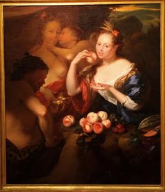 Venus and Cupid, Bacchus and Pomona