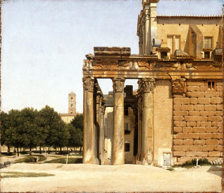 View of the Via Sacra, Rome