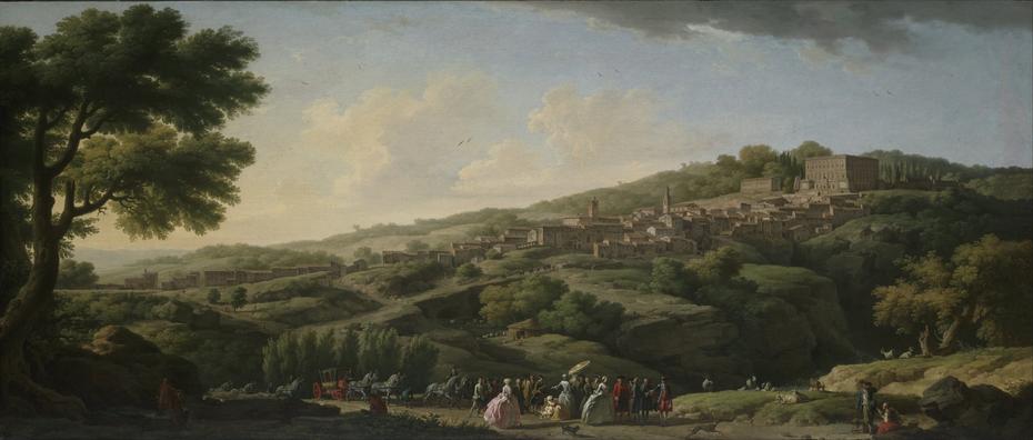 Villa at Caprarola